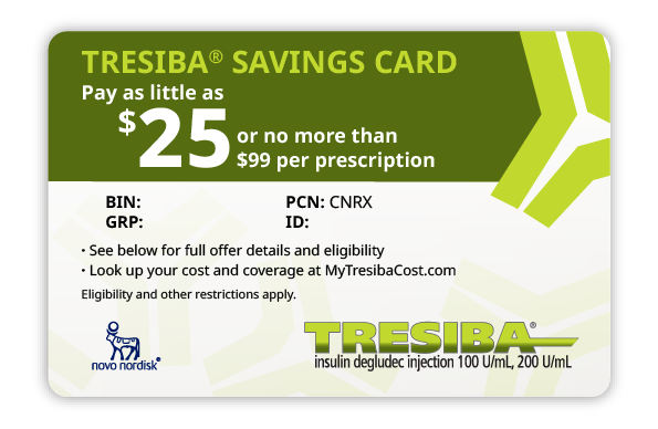 Tresiba® Savings Card