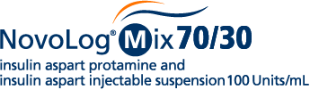NovoLog® Mix 70/30 (insulin aspart protamine and insulin aspart injectable suspension) 100 U/mL Premix Insulin