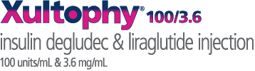 Xultophy® 100/3.6 (insulin degludec and liraglutide injection) 100 units/mL and 3.6 mg/mL